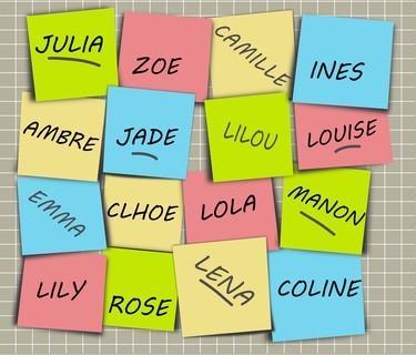 Quel sera votre prochain prénom ?